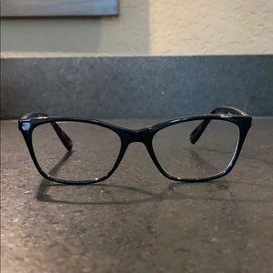 Ralph Lauren glasses frame/black with floral sides
